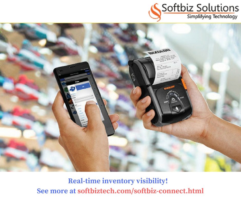 check inventory in real time! Contact us at Softbiztech.