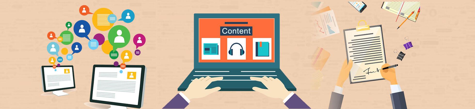 Content Development Services   Website Content Writing Services